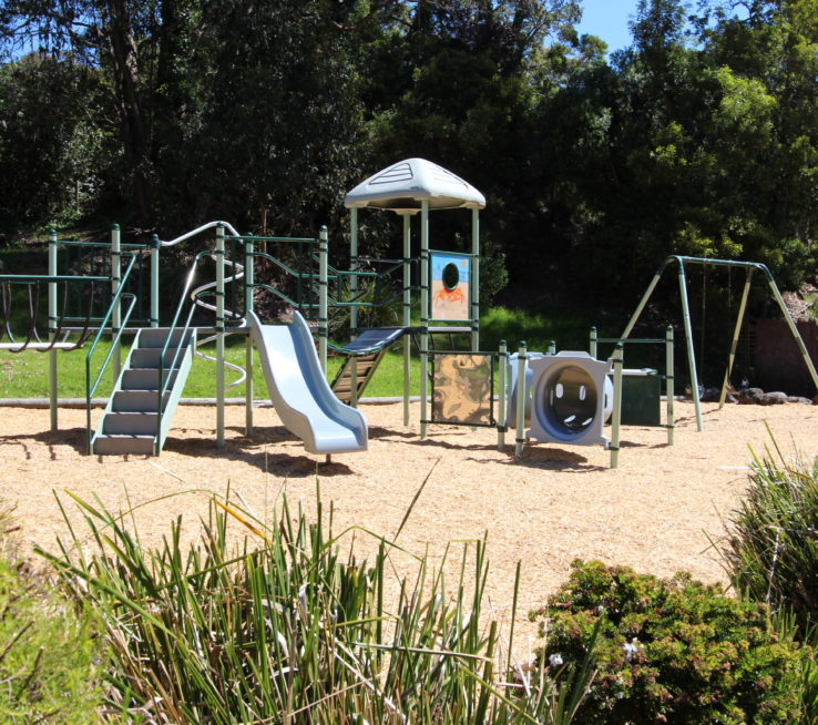 Playground at Kia Ora park.