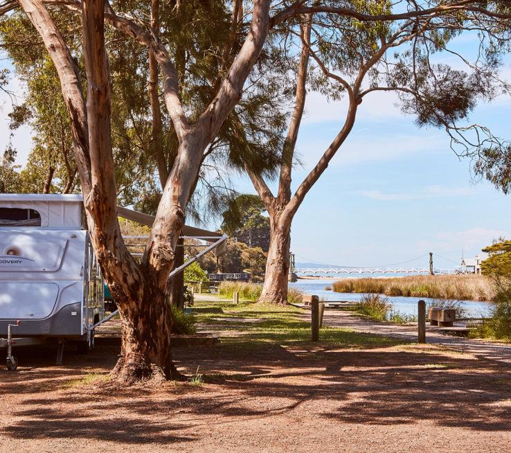 Erskine River campsite.