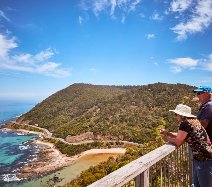 Enjoy the view at Teddy's Lookout