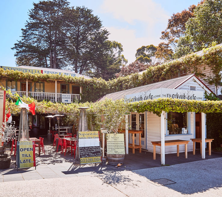 Try the local fare in one of Lorne's many restaurants